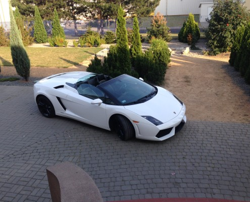 Lamborghini Gallardo na ślub