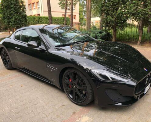 Wynajem Maserati GranTurismo Sport